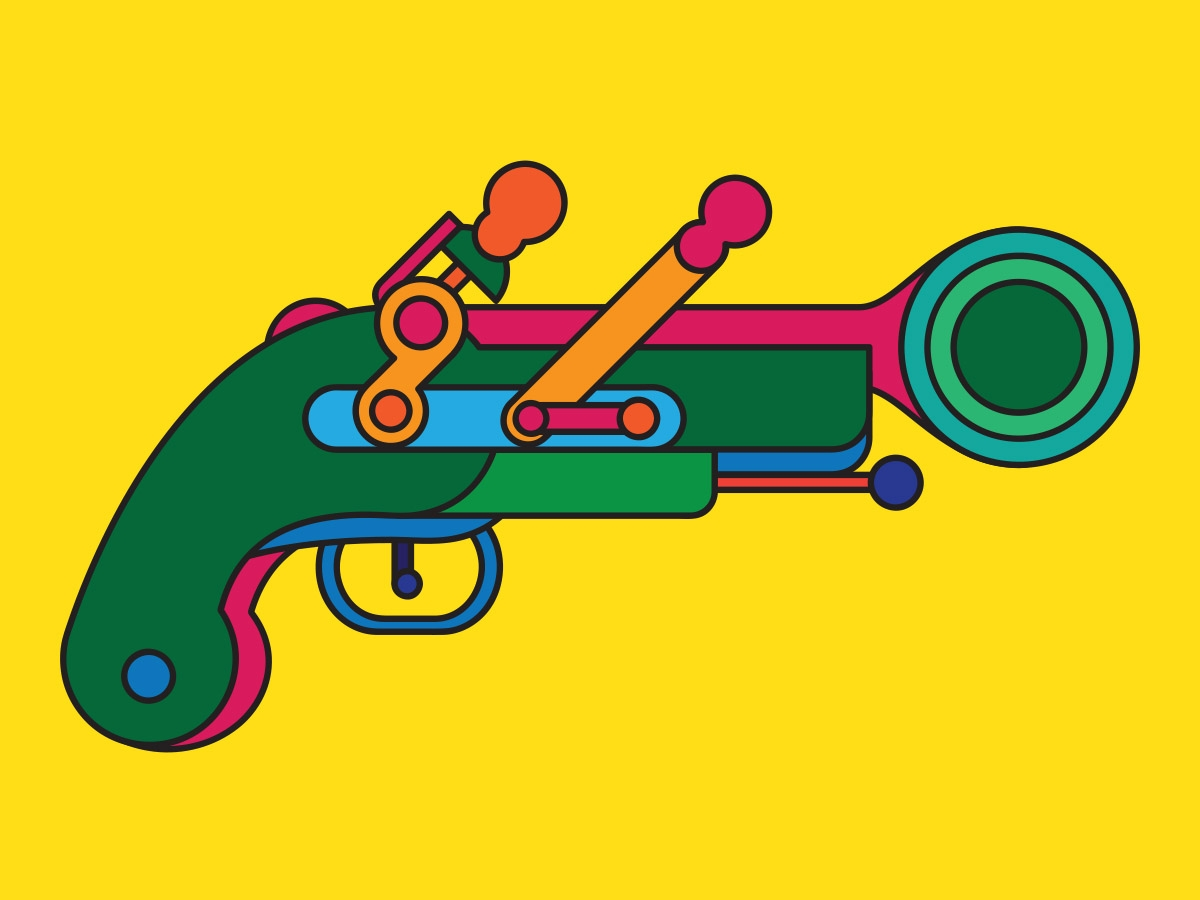 blunderbuss-pistols