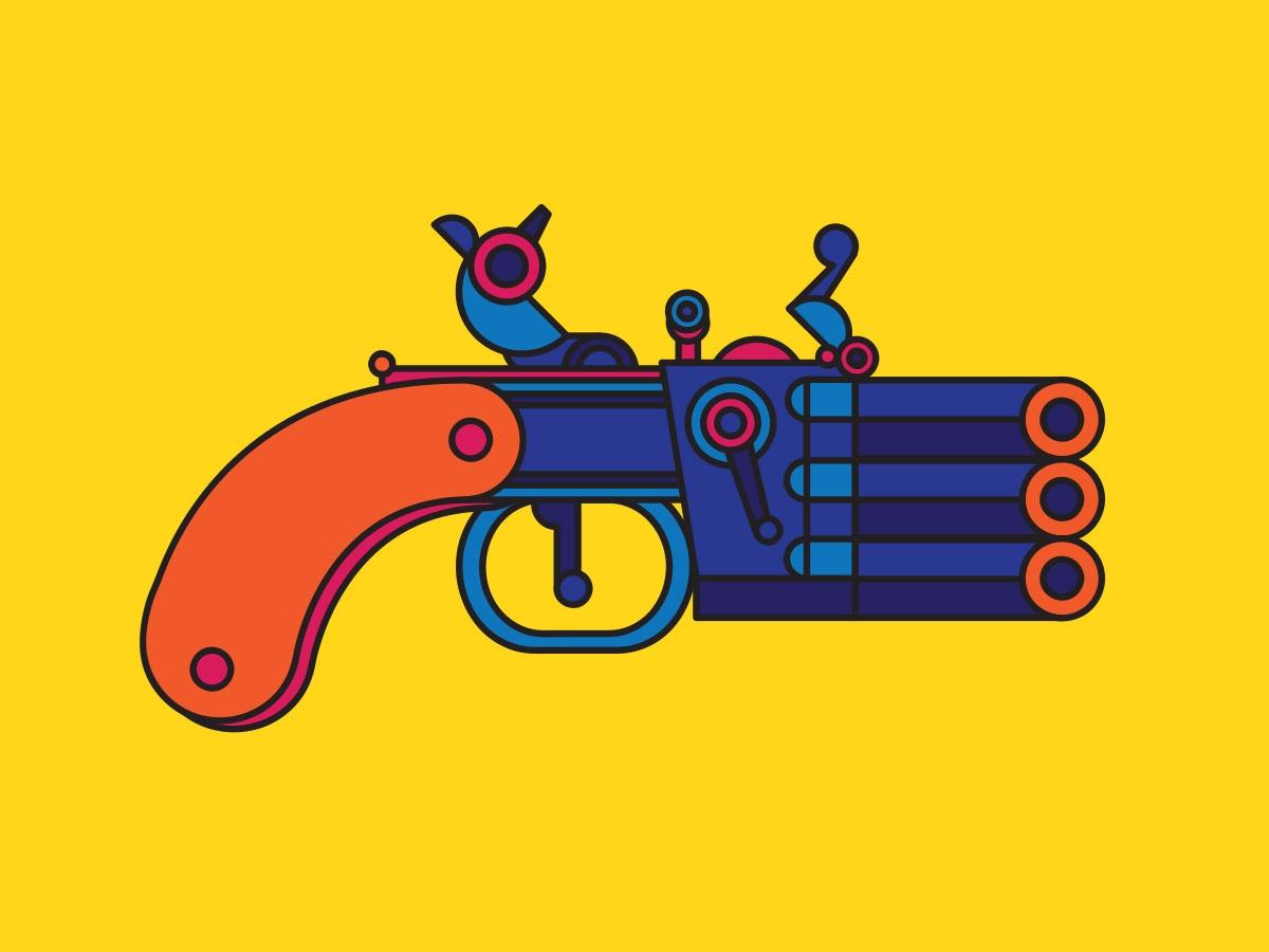 flint pistols
