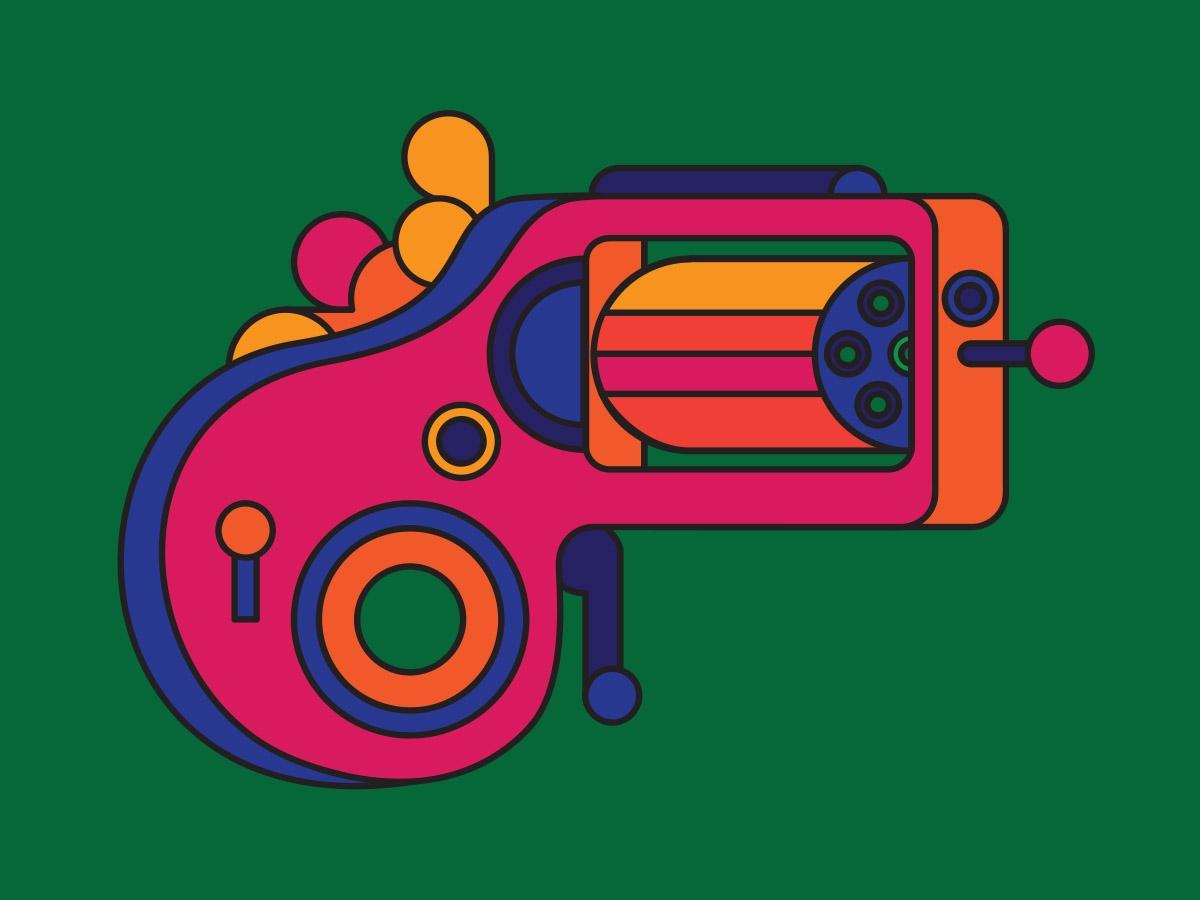 knuckle pistols