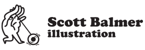 Scott Balmer – Illustration